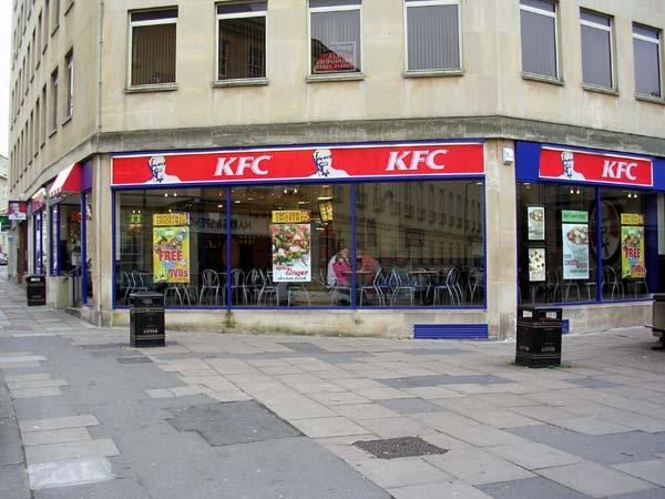 KFC's Bath branch